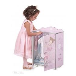 Armadio Legno per Bambole Magic María De Cuevas Toys 55234 | De Cuevas Toys