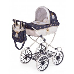 Passeggino per Bambole Classic Romantic Pieghevole De Cuevas Toys 81032