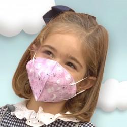 Mascherina Igienica Riutilizzabile per bambini Magic Maria 105.10001   De Cuevas Toys