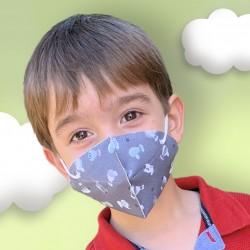 Mascherina Igienica Riutilizzabile per bambini Sky 105.10002 | De Cuevas Toys