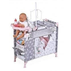 Armadio Fasciatoio per Bambole Pieghevole Sky De Cuevas Toys 53035