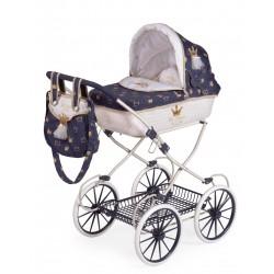Passeggino per Bambole Classic Romantic Pieghevole DeCuevas Toys 81032
