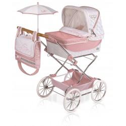 Passeggino per Bambole Pieghevole Reborn Classic Romantic DeCuevas Toys 82038