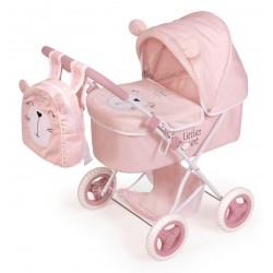 Passeggino per Bambole Little Pet Pieghevole DeCuevas Toys 85039