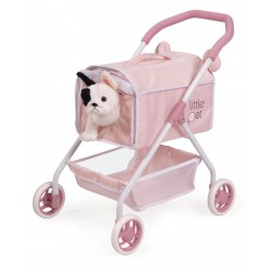 Passeggino per Cuccioli Il Mio Primo Passeggino Animaletti Little Pet DeCuevas Toys 86139