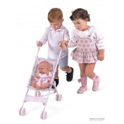 Passeggino per Bambole Pieghevole Sedia Magic María DeCuevas Toys 90034 | DeCuevas Toys