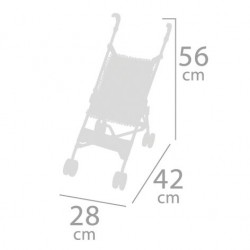 Passeggino per Bambole Pieghevole Sedia DeCuevas Toys 90096 | DeCeuvas Toys