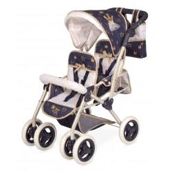 Passeggino per Bambole Sedia Gemellare Pieghevole Top Collection DeCuevas Toys 90332