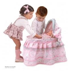 La Mia Prima Culla per bambole Magic María DeCuevas Toys 51134 | DeCuevas Toys