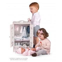 Armadio Legno per Bambole Sky DeCuevas Toys 54035 | DeCuevas Toys