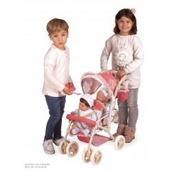 Passeggino per Bambole Sedia Gemellare Pieghevole Martina DeCuevas Toys 90333 | DeCuevas Toys