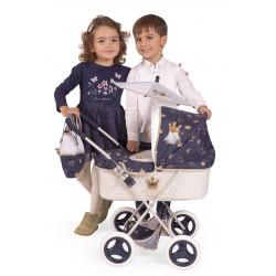 Passeggino per Bambole Classic Romantic Pieghevole DeCuevas Toys 85032 | DeCuevas Toys
