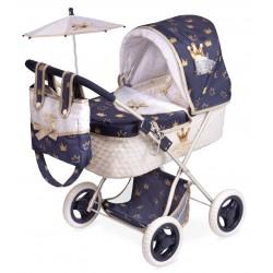 Passeggino per Bambole Classic Romantic Pieghevole DeCuevas Toys 85032