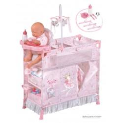 Armadio Fasciatoio per Bambole Pieghevole Magic María DeCuevas Toys 53034