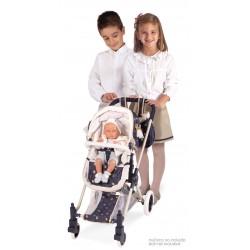 Passeggino per Bambole XL Classic Romantic 3x1 DeCuevas Toys 80732 | DeCuevas Toys