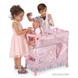 Armadio Fasciatoio per Bambole Pieghevole Magic María DeCuevas Toys 53034 | DeCuevas Toys
