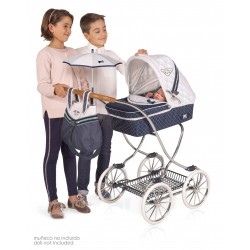 Passeggino per Bambole Top Collection con Ombrello DeCuevas Toys 80237 | DeCuevas Toys