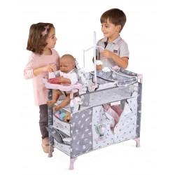 Armadio Fasciatoio per Bambole Pieghevole Sky DeCuevas Toys 53035