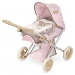 Passeggino e sedia per bambole 3x1 pieghevole Didi DeCuevas Toys 85143