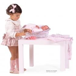 Combi con Accessori per Bambole 4 in 1 Magic María De Cuevas Toys 53534 | De Cuevas Toys